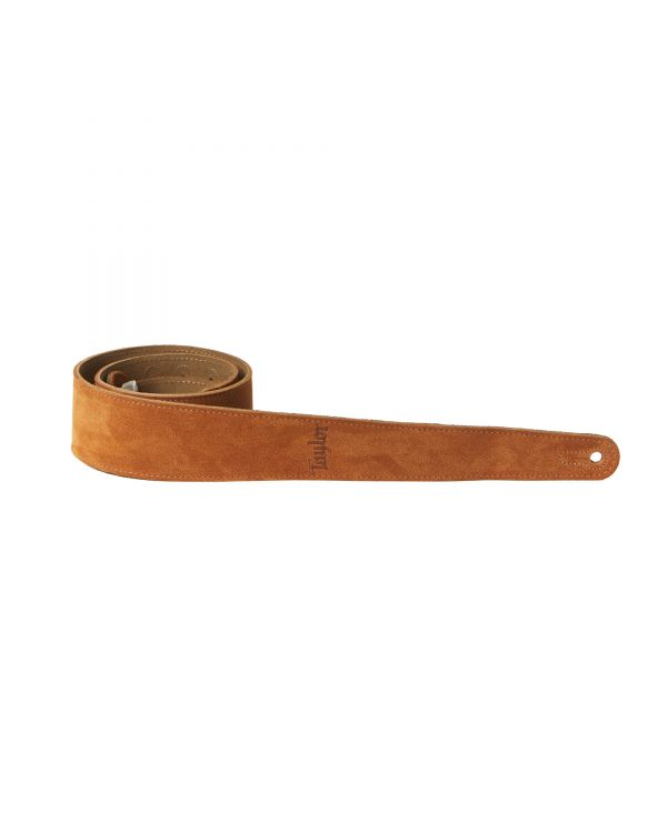 Taylor TS250-07 Suede Guitar Strap, Honey