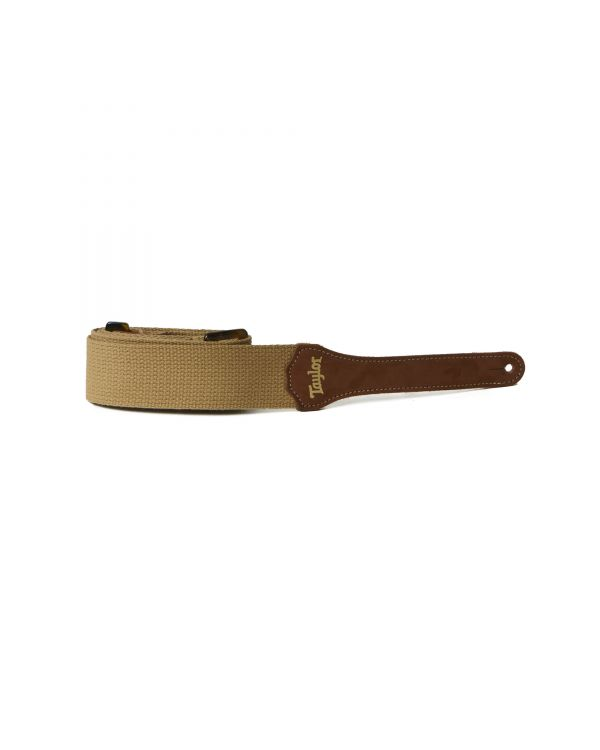 "Taylor Cotton 2"" Guitar Strap, Tan"