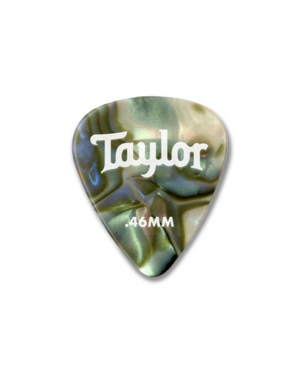Taylor Celluloid 351 Heavy Guitar Picks, 0.96mm Abalone (12 Pack)