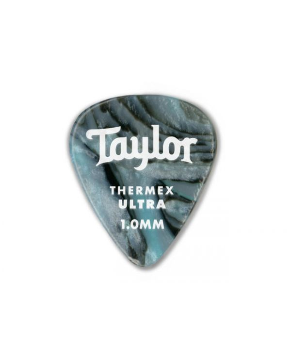 Taylor Darktone 351 Guitar Picks Abalone, 1.0mm (6-Pack)