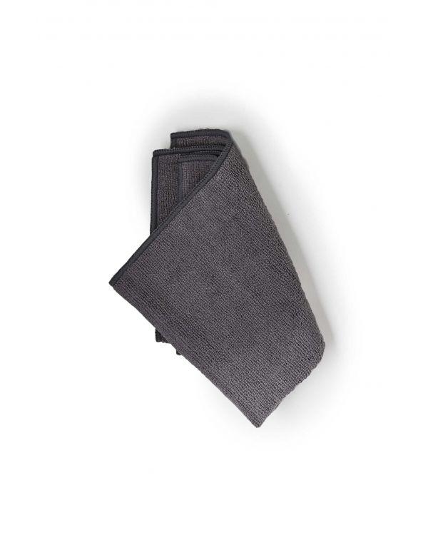 Taylor Premium Plush Microfiber Guitar Cleaning Cloth, Grey