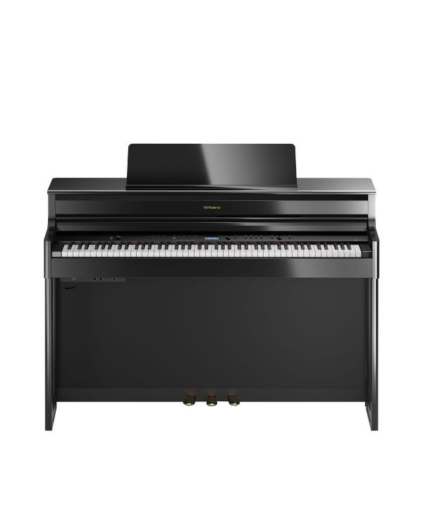 Roland HP704 Digital Piano Polished Ebony