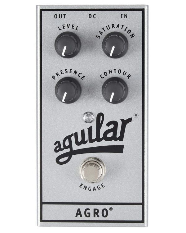 Aguilar Effect Pedal AGRO Anniversary Edition Bass Overdrive