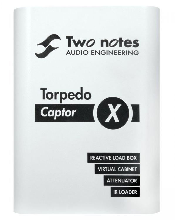 Two Notes Torpedo Captor X 16 Ohms Reactive Loadbox