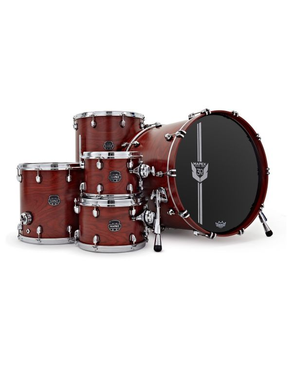 Mapex 30th Anniversary 5pc Kit Maple Garnet Flame
