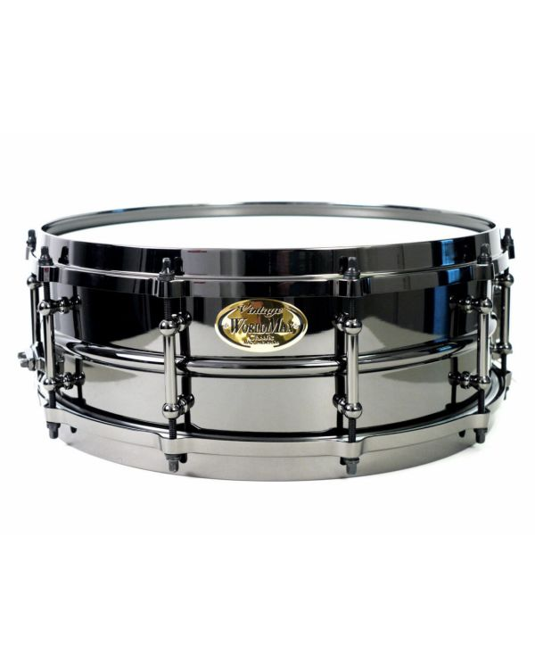 "WorldMax 14"" X 5"" Brass Black Snare Drum"