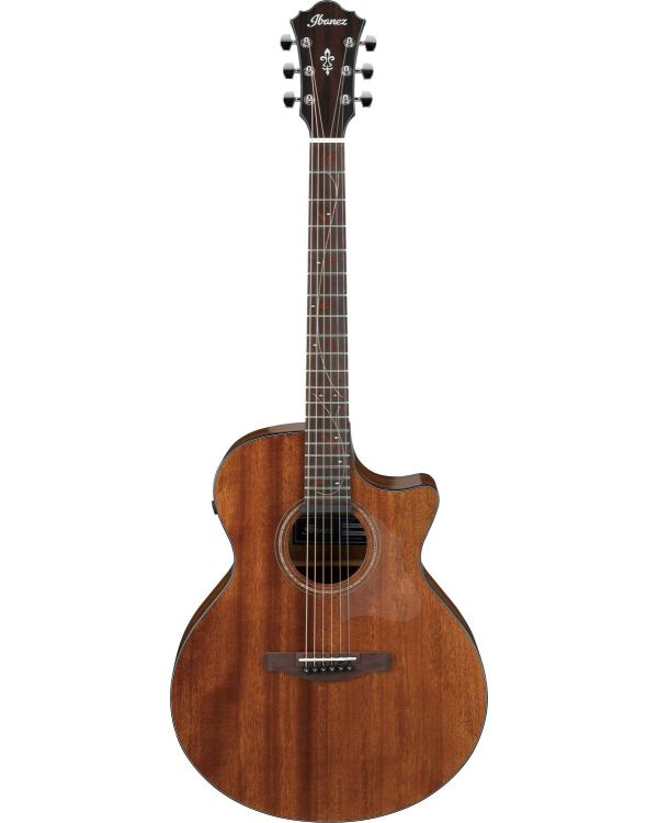 Ibanez AE295-LGS Ae Series Electro Acoustic Guitar, Natural