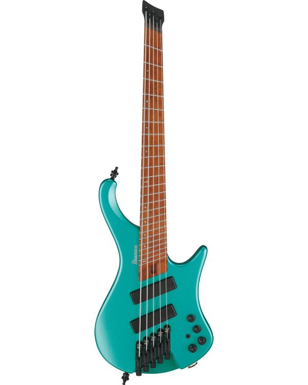 Ibanez EHB1005SMS-EMM Mscale 5-String Bass, Emerald Green Metallic