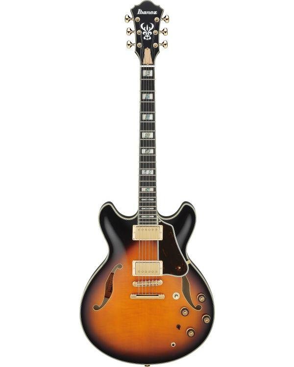 Ibanez AS2000-BS Artstar Prestige Guitar, Brown Sunburst