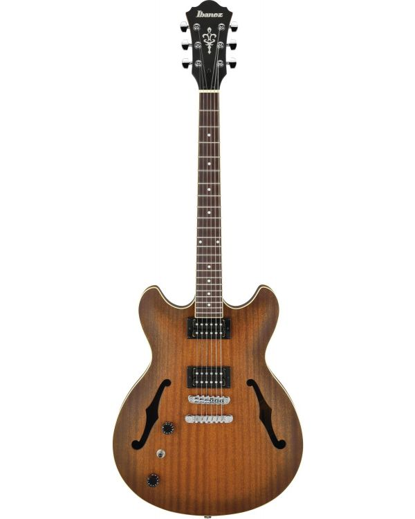 Ibanez AS53L-TF Artcore Left-handed Electric Guitar, Trans Red Flat