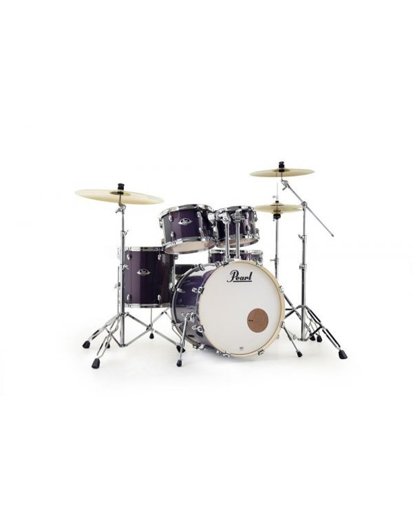 Pearl Export 22? 5-Pc Kit in Purple Nebula w/ Cymbals & Hardware Pack