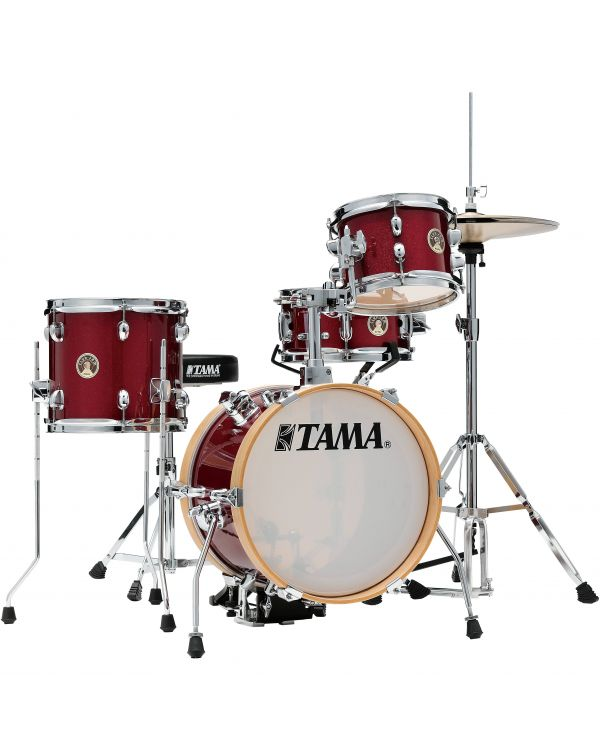 Tama Club Jam Flyer 4 Piece Shell Pack Candy Apple Mist w/ Hardware