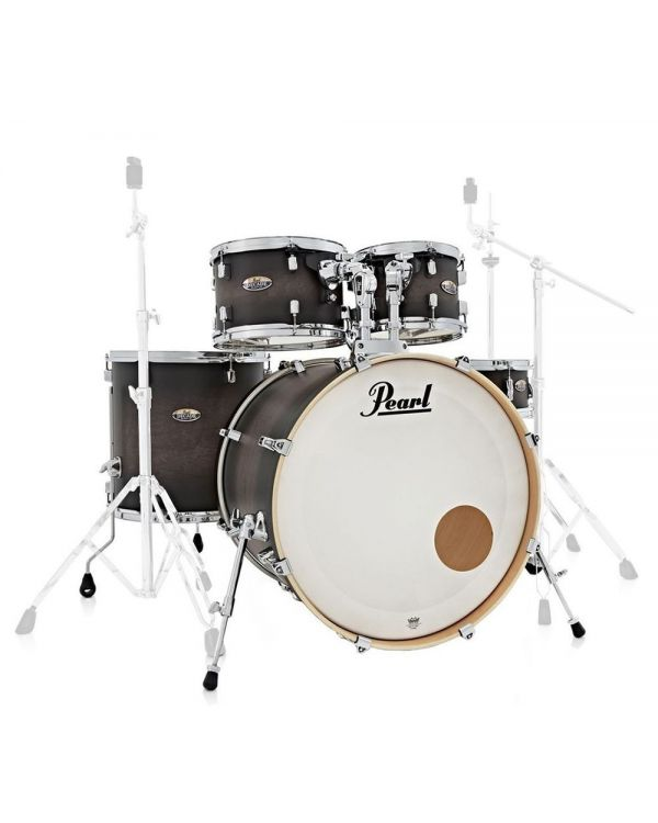 Pearl Decade Maple Fusion Shell Pack, Satin Black Burst