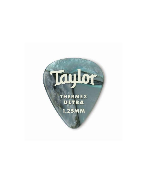 Taylor Darktone 351 Guitar Picks Abalone, 1.25mm (6-Pack)