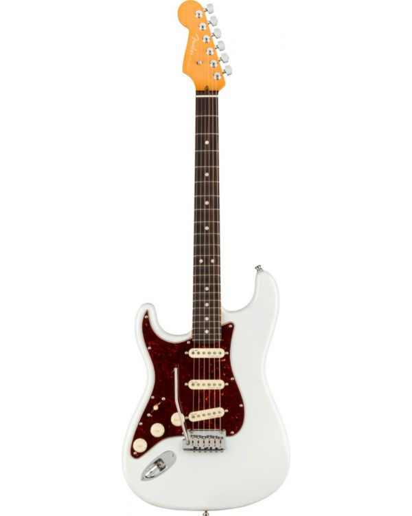 Fender American Ultra Stratocaster Left-Hand RW, Arctic Pearl