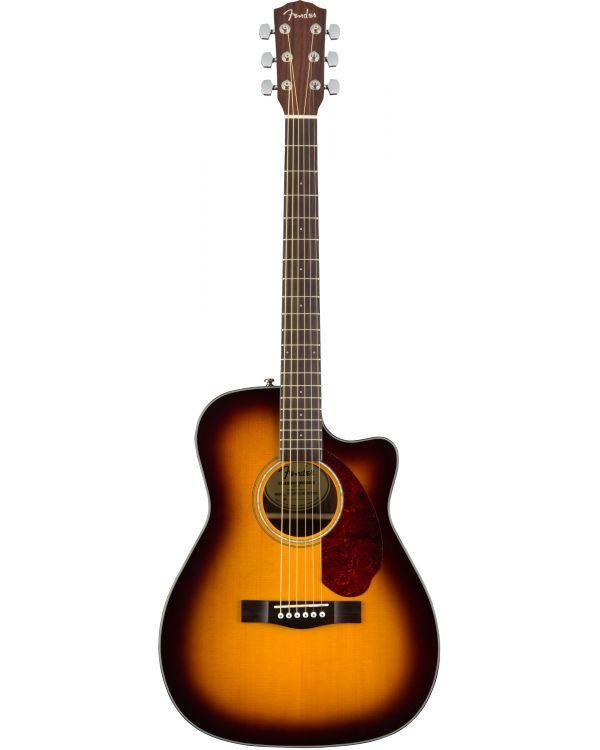 Fender CC-140SCE Concert Acoustic Guitar, Sunburst w/case