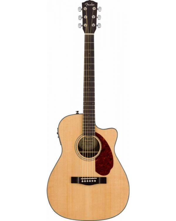 Fender CC-140SCE Concert Acoustic Guitar, Natural w/case