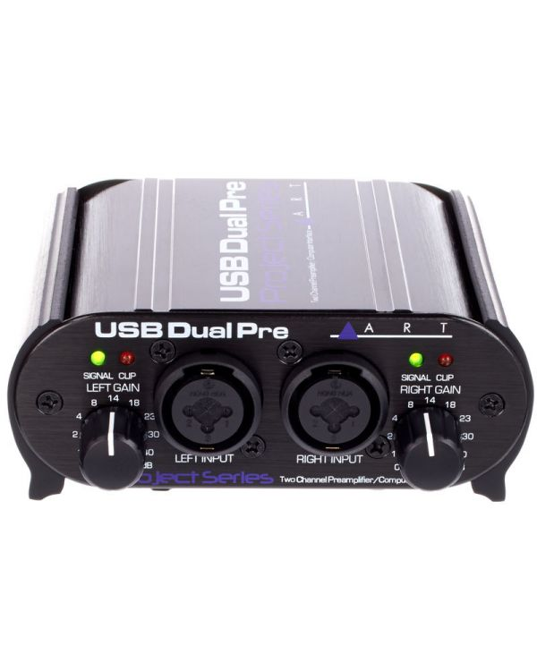 ART USB Dual Pre 2 Channel USB Preamp Interface