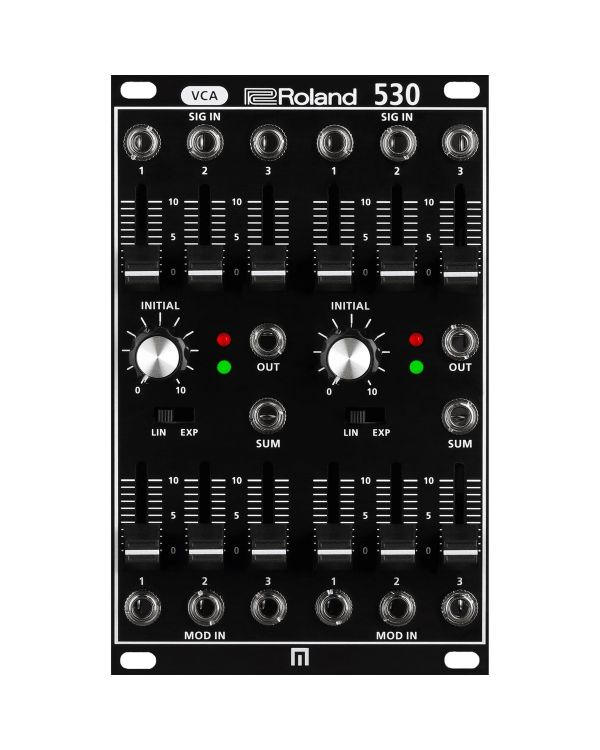 Roland SYSTEM-500 530 Dual VCA Analog Modular Synthesizer