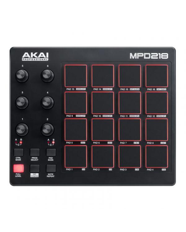 Akai Professional MPD218 USB MIDI Pad Controller