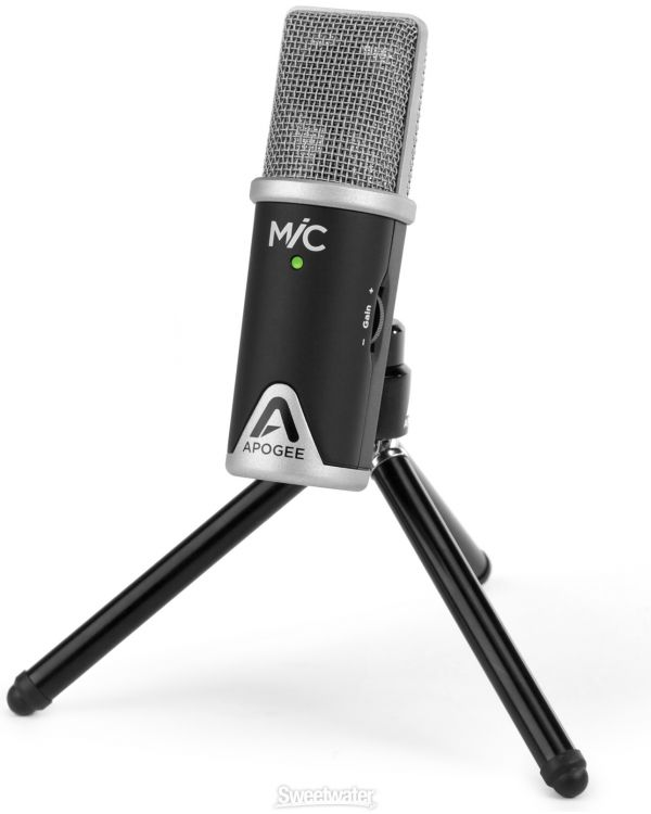 Apogee Mic 96kHz USB Microphone For iPad, iPhone and Mac