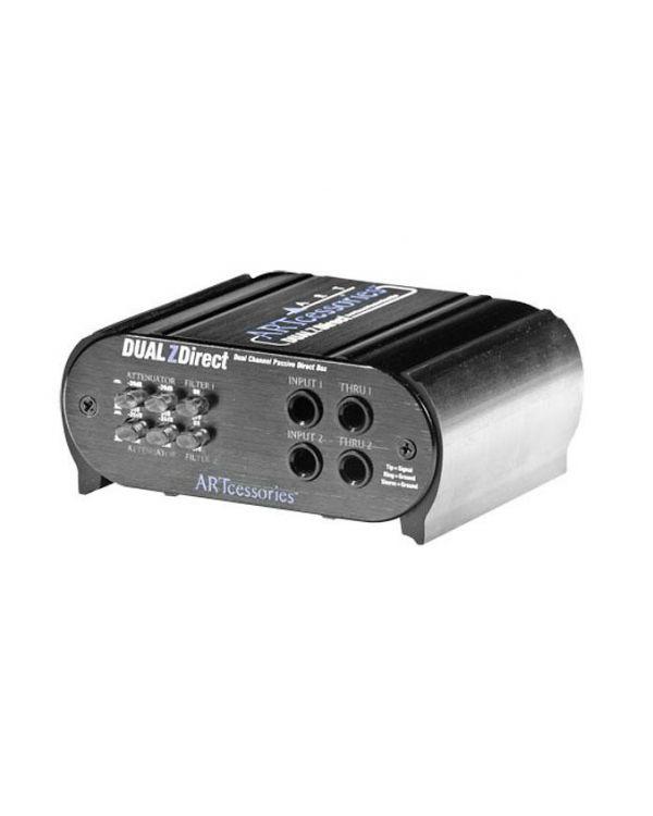 ART Dual Z Direct 2 Channel Passive DI Box