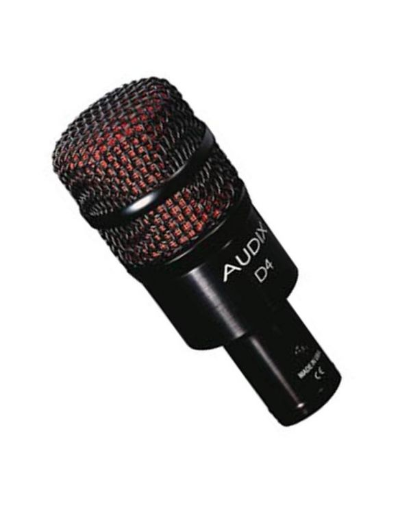 Audix D4 Drum and Instrument Microphone