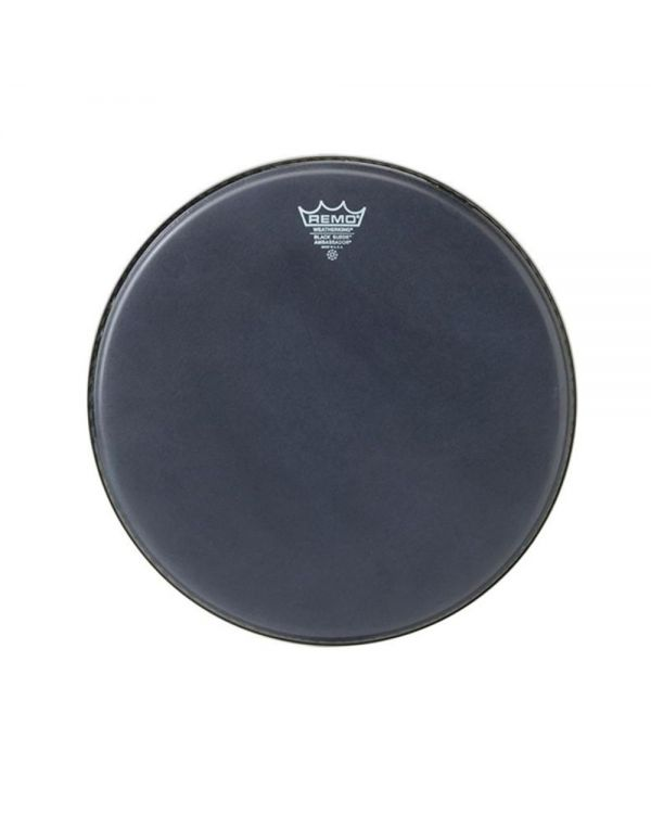 """Remo 16"""" Black Suede Ambassador Snare / Floortom Head"""