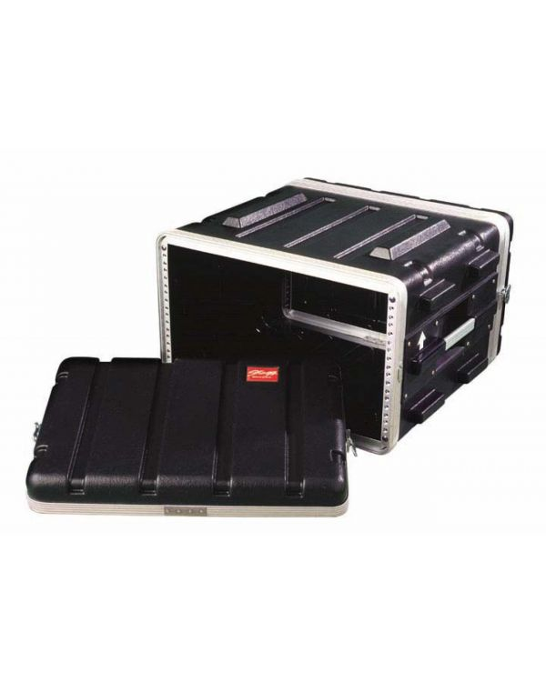 Black RAT 8U ABS Rack Case