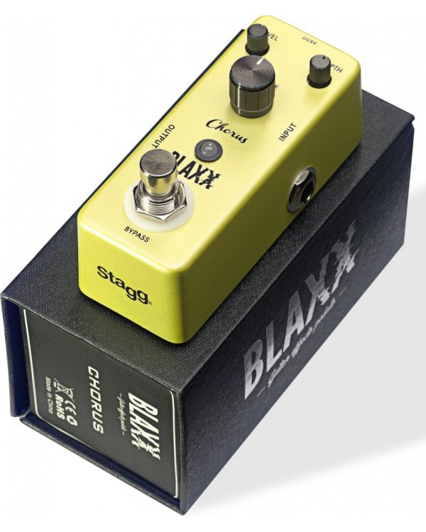 Blaxx Chorus Mini Effects Pedal