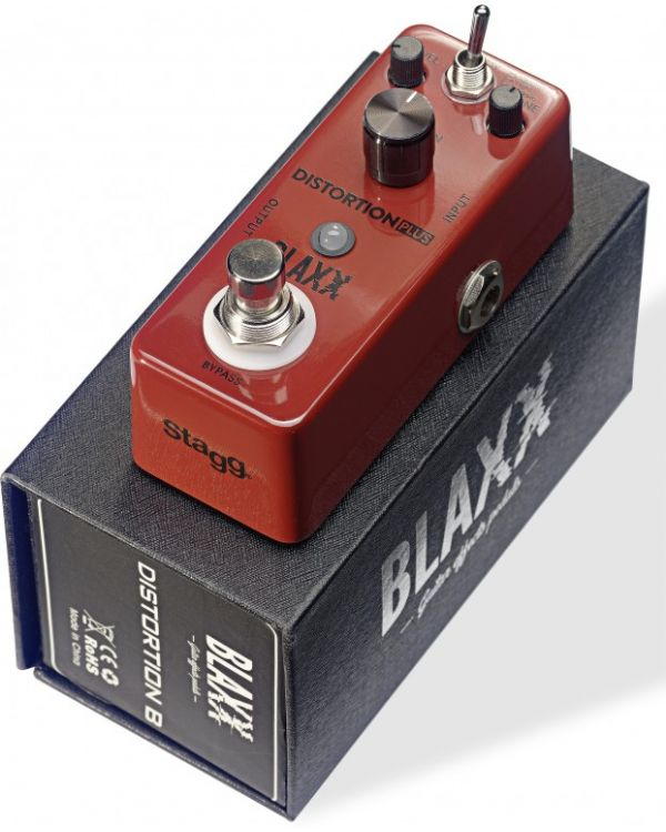 Blaxx 3 Modes Distortion Mini Pedal