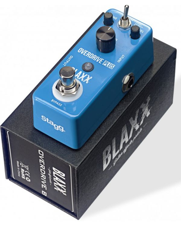 Blaxx Overdrive Mini Effects Pedal