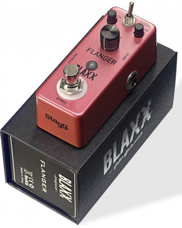 Blaxx Flanger Mini Effects Pedal