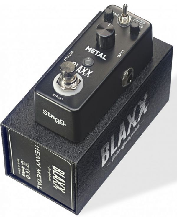 Blaxx Heavy Metal Mini Effects Pedal