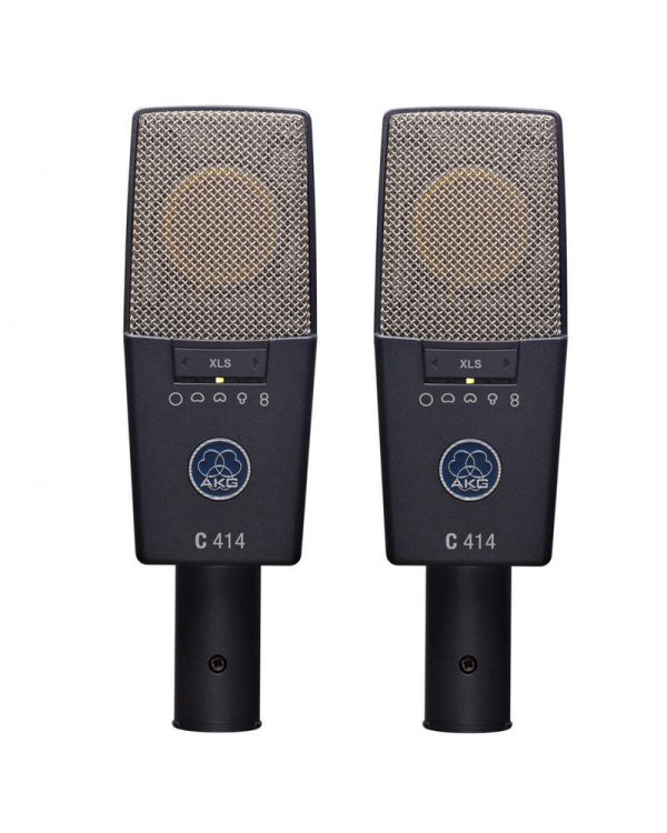 AKG C414 XLS Condenser Microphones (Stereo Matched Pair)