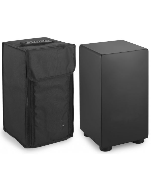Black Rat CAJ-40S Small Sized Black Cajon + Gig Bag