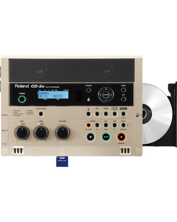Roland CD-2U CD Recorder with Built-in Microphone & Speakers
