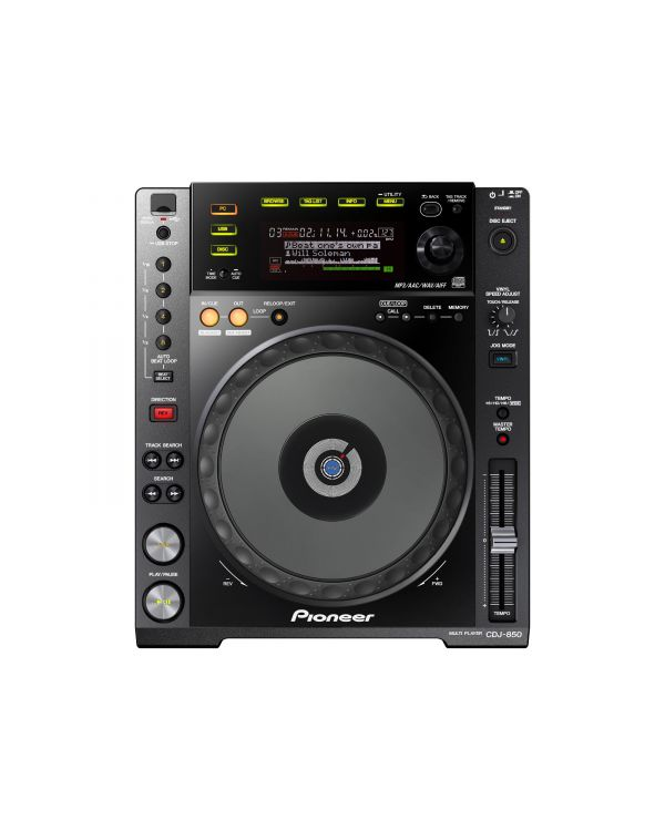 Pioneer CDJ 850 K CD Deck in Black
