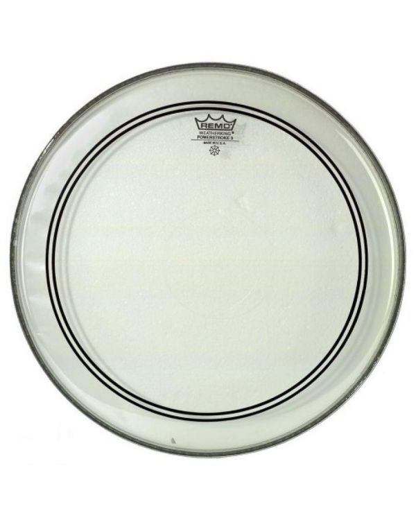 """Remo 12"""" Powerstroke 3 Clear"""