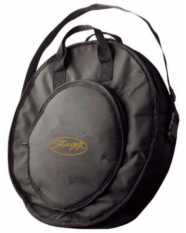 Stagg CYB-10 Dual Cymbal Bag With Shoulder Straps