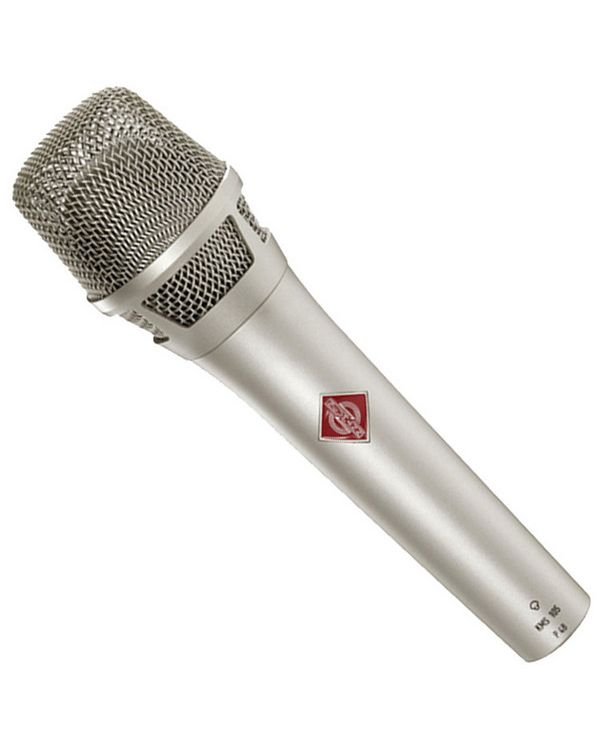 Neumann KMS 105 Hand Held Condenser Microphone in Nickel