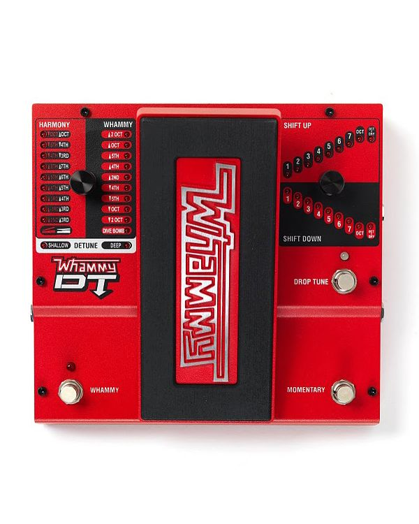 Digitech Whammy DT Pitch Shifting Guitar Effects Pedal
