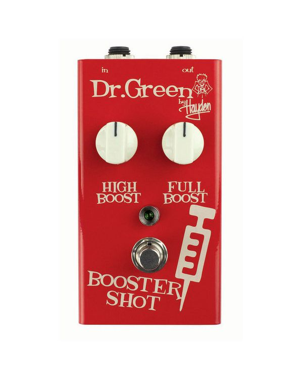 Dr. Green Booster Shot Boost Pedal
