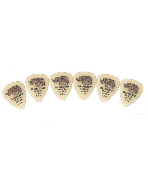 Dunlop 421P1.14 Standard Guitar Picks - 1.14mm (6 Pack)