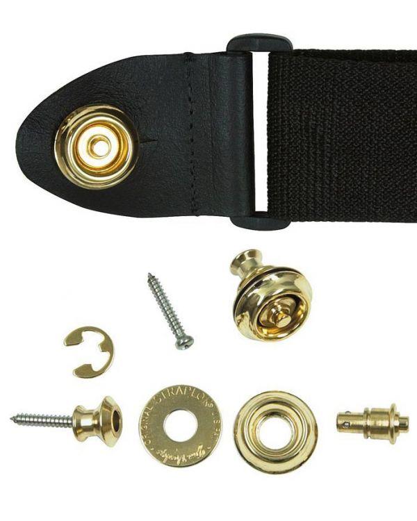 Dunlop Strap Lock Dual Design in Gold