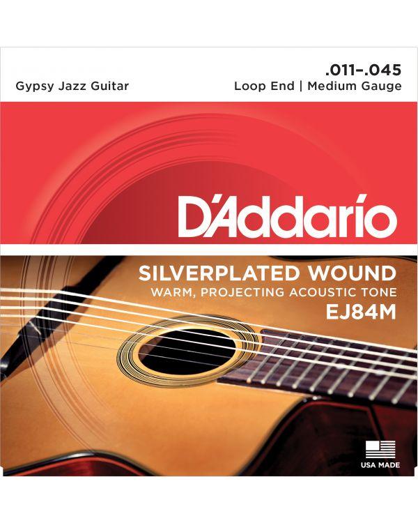 DAddario EJ84M Gypsy Jazz Acoustic Guitar Strings 11-45