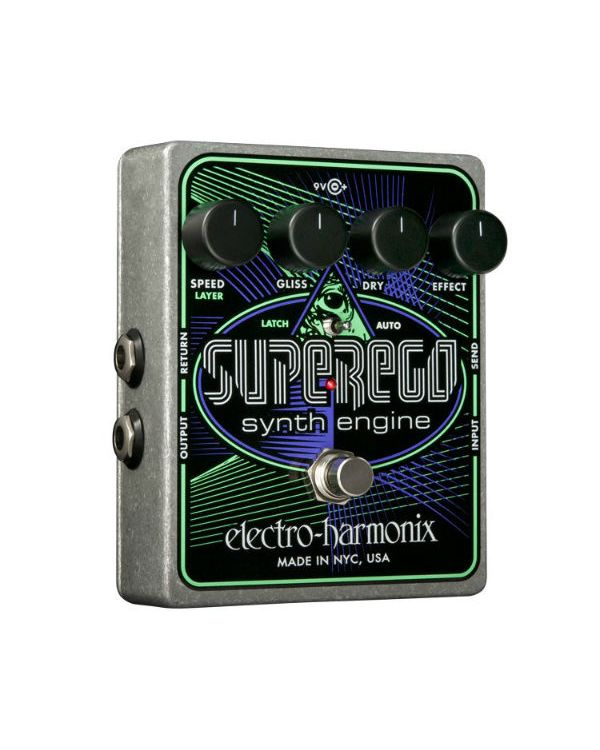 Electro Harmonix SuperEgo Synth Guitar Effects Pedal