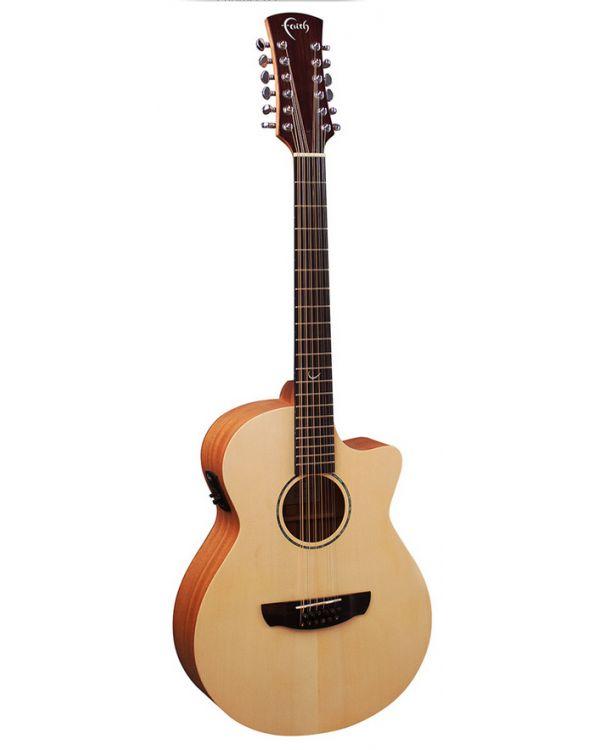 Faith Naked Venus 12-String Electro Cutaway Acoustic Guitar