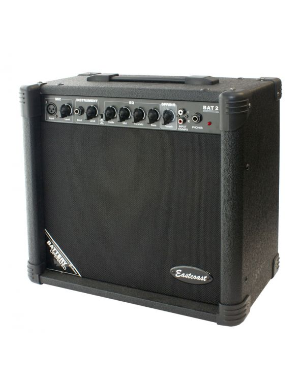 Eastcoast MOB20 Portable Battery Powered Acoustic Guitar Amp