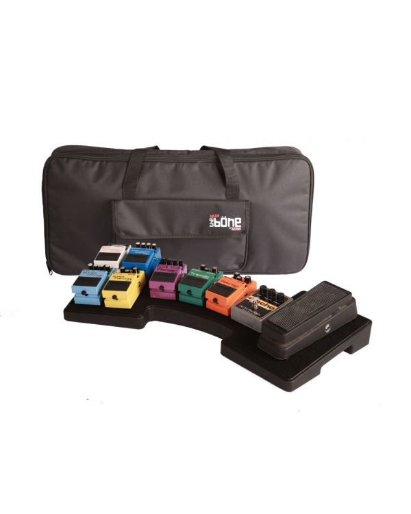 Gator Pedalboard Fits 10 Pedals PE With BAG & PSU